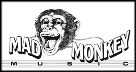 Mad Monkey Music Store Logo